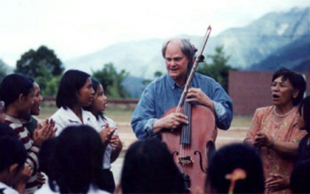 親愛的 那天我的大提琴沉默了