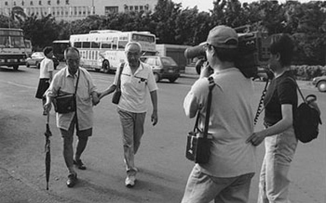 台北的老人義工們